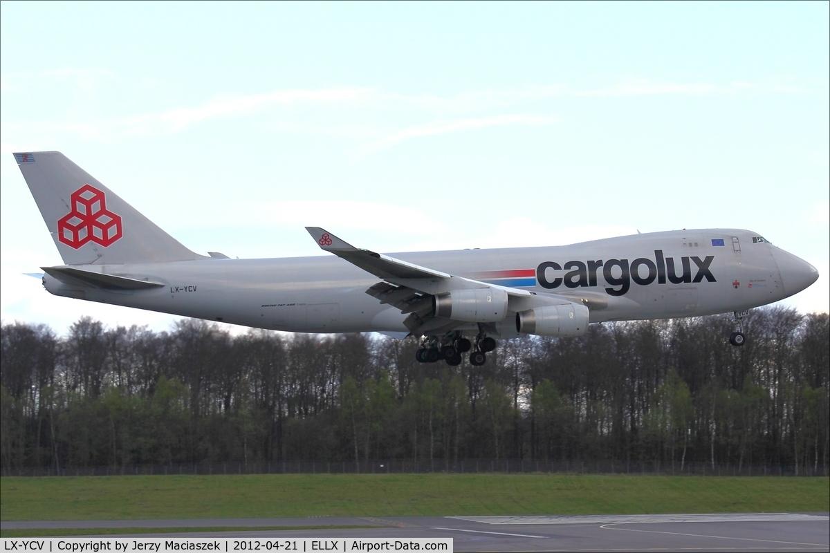 LX-YCV, 2008 Boeing 747-4R7F/SCD C/N 35805/1407, Boeing 747