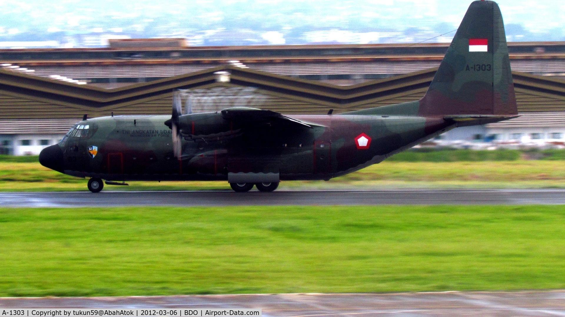 A-1303, 1960 Lockheed C-130B Hercules C/N 282-3580, Indonesian Air Force Tentara Nasional Indonesia Angkatan Udara, TNI–AU