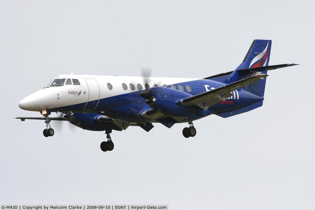 G-MAJD, 1992 British Aerospace Jetstream 41 C/N 41006, British Aerospace Jetstream 41, Newcastle Airport, September 2008.