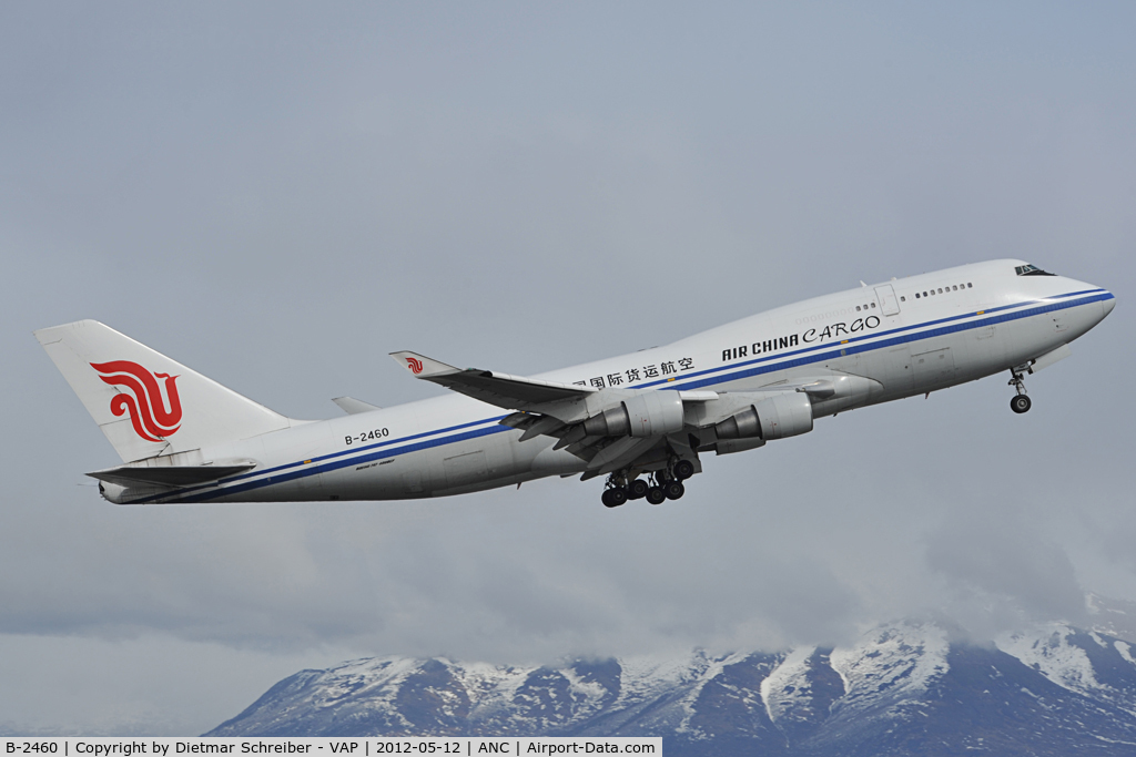 B-2460, Boeing 747-4J6 (M) C/N 24348, Air China Boeing 747-400
