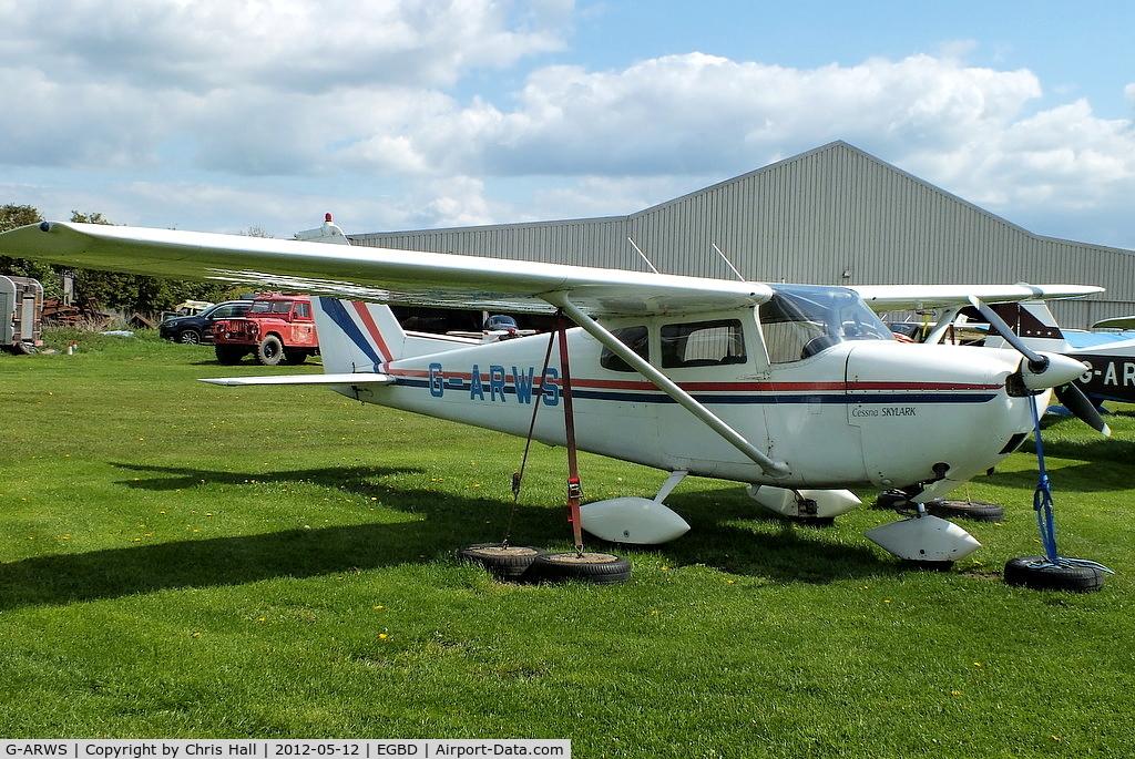 G-ARWS, 1962 Cessna 175C Skylark C/N 17557102, Derby resident