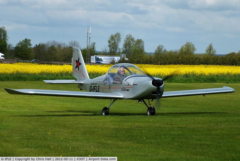 G-IFLE, 2004 Cosmik EV-97 TeamEurostar UK C/N 2113, at Otherton Microlight Airfield