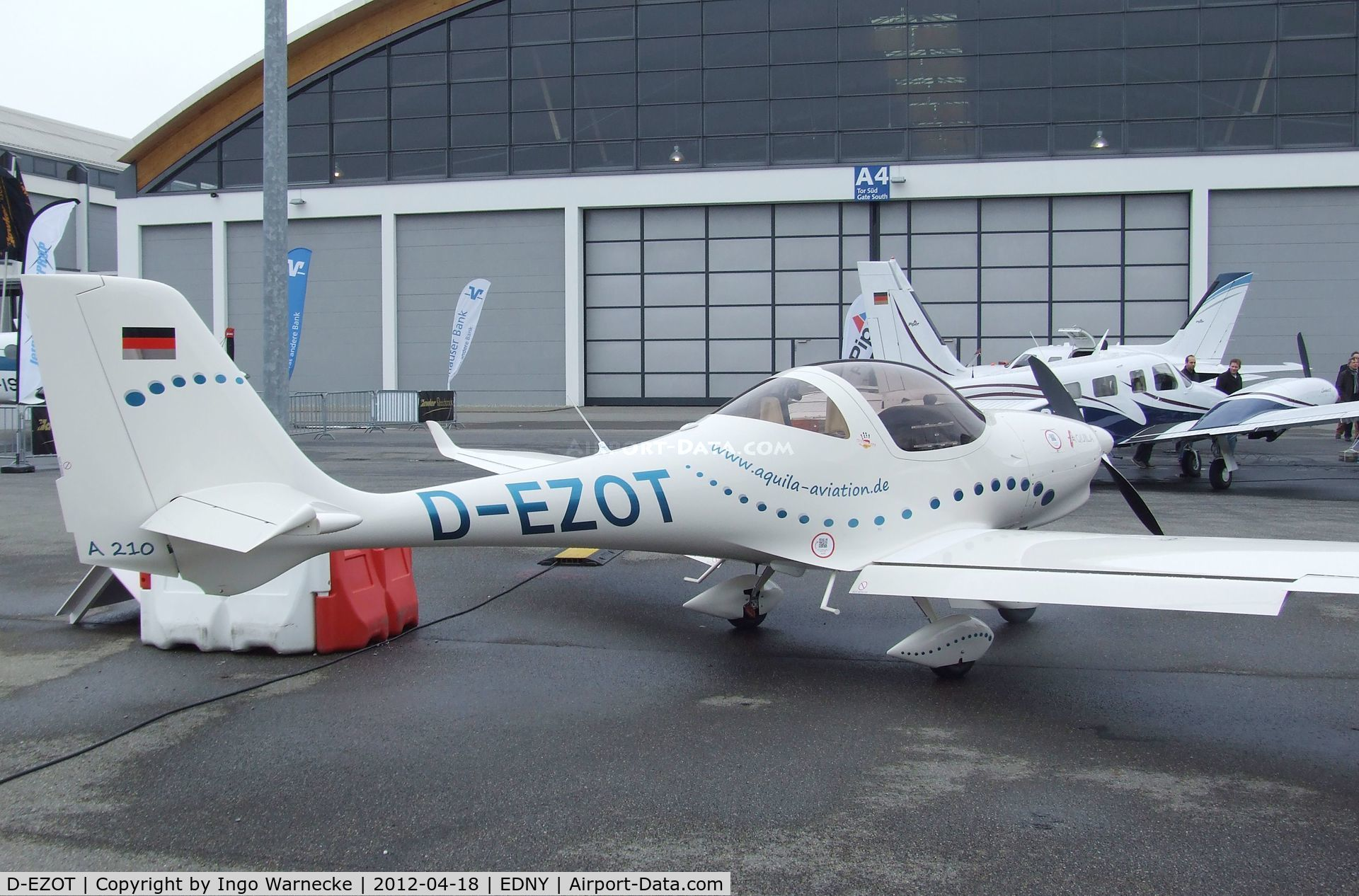 D-EZOT, Aquila A210 (AT01) C/N AT01-228, Aquila AT01 A 210 at the AERO 2012, Friedrichshafen