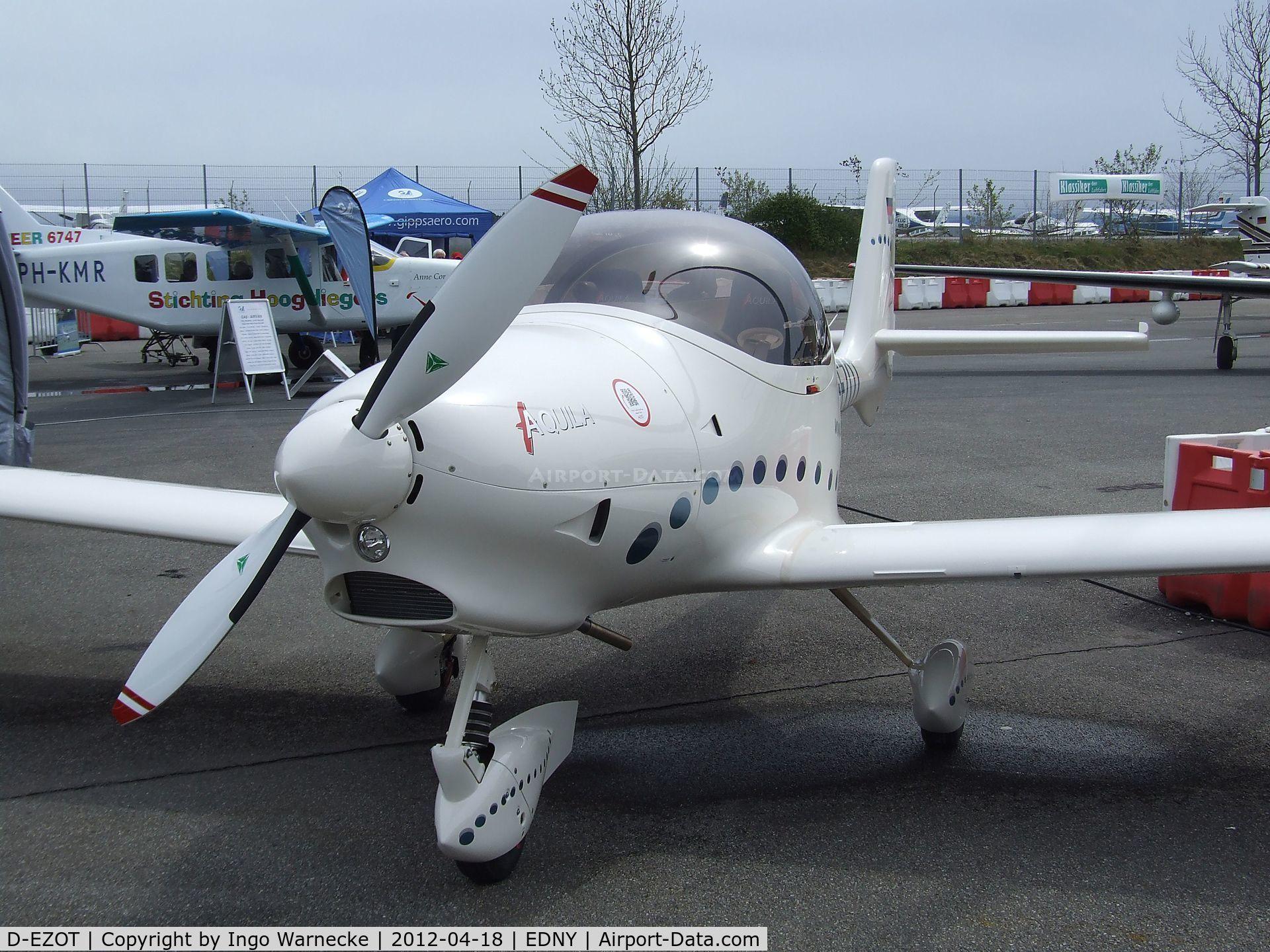 D-EZOT, Aquila A210 (AT01) C/N AT01-228, Aquila AT01 A 210 at the AERO 2012, Friedrichshafen