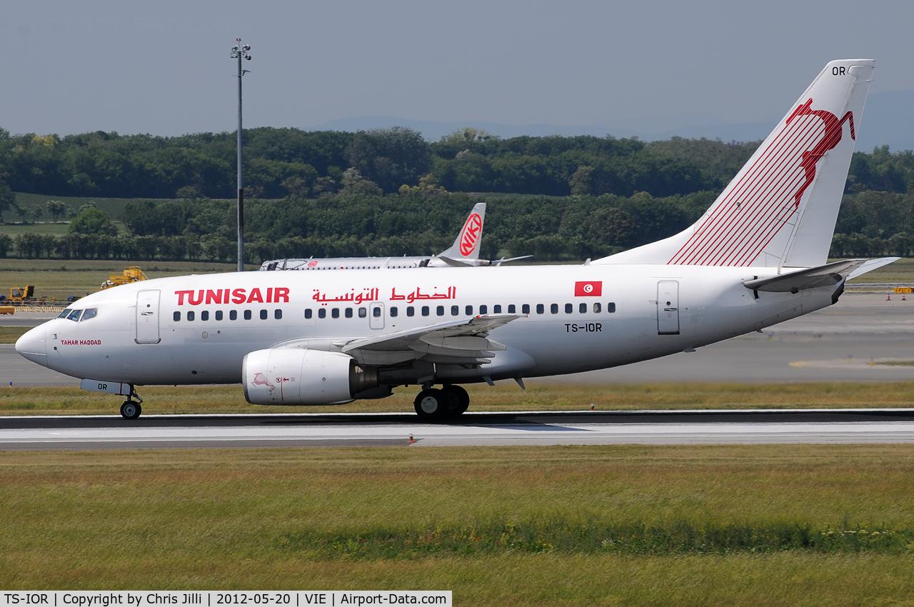 TS-IOR, 2001 Boeing 737-6H3 C/N 29502, Tunisair