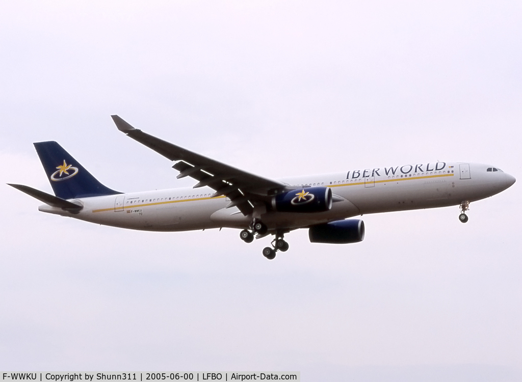 F-WWKU, 2005 Airbus A330-343X C/N 670, C/N 0670 - To be EC-JHP