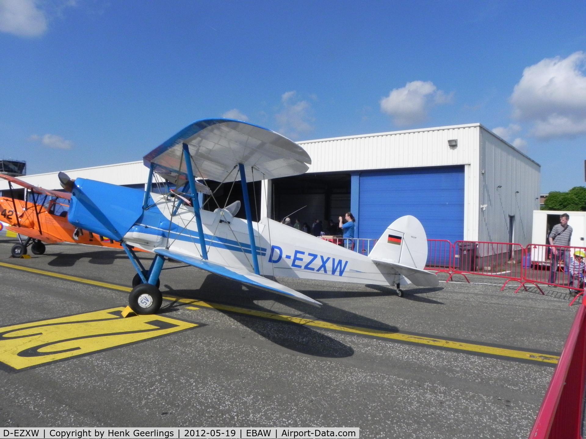 D-EZXW, Stampe-Vertongen SV-4C C/N 530, Stampe Fly In , 2012 , Deurne Airport