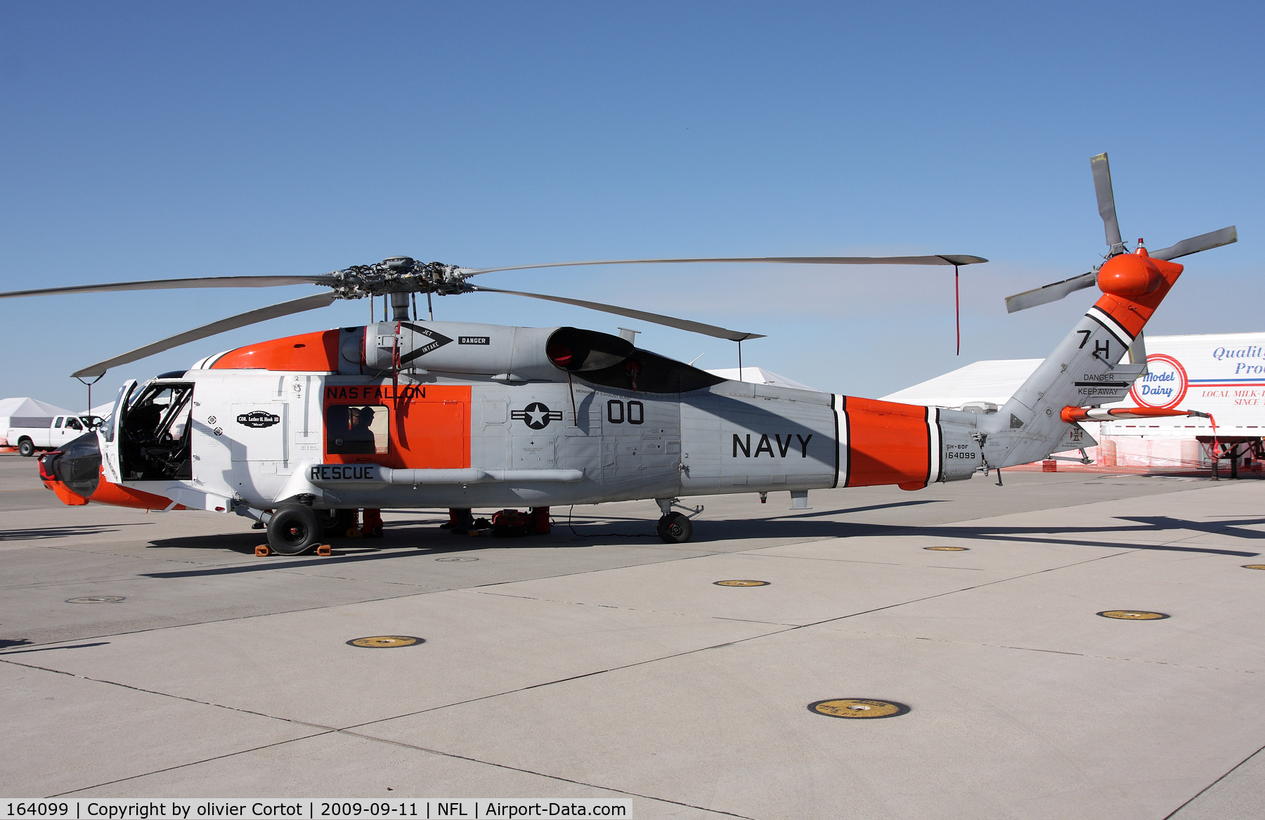 164099, Sikorsky SH-60F Ocean Hawk C/N 70.1578, Fallon airshow 2009
