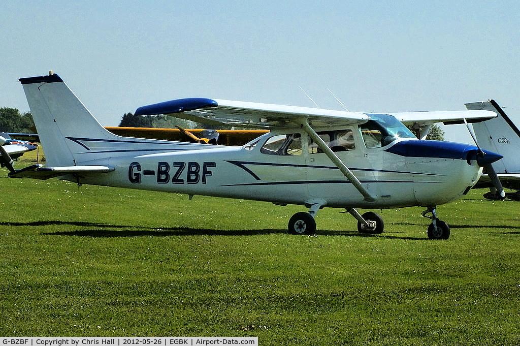 G-BZBF, 1974 Cessna 172M Skyhawk C/N 17262258, at AeroExpo 2012