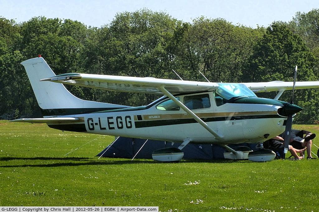 G-LEGG, 1980 Reims F182Q Skylane C/N 0145, at AeroExpo 2012