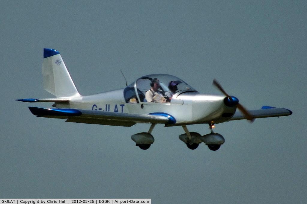 G-JLAT, 2003 Aerotechnik EV-97 Eurostar C/N PFA 315-14068, at AeroExpo 2012