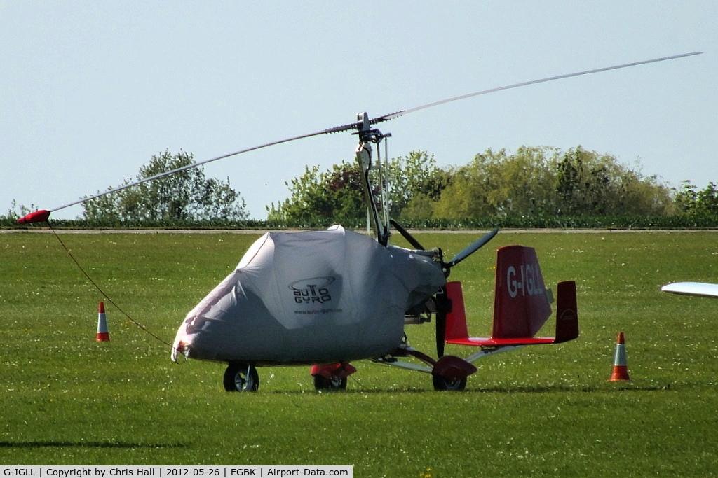 G-IGLL, 2011 Rotorsport UK MTOsport C/N RSUK/MTOS/037, at AeroExpo 2012