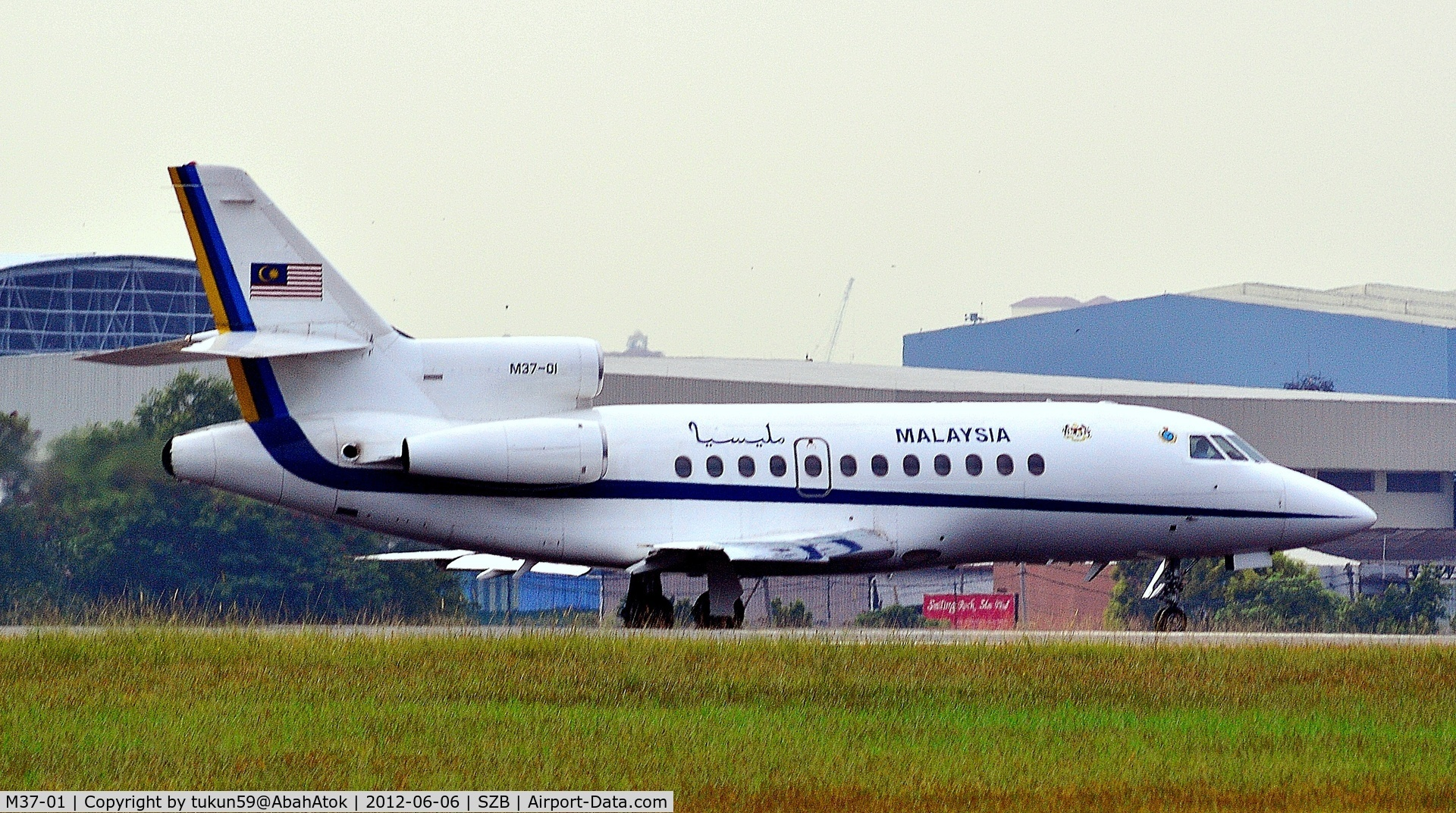 M37-01, 1989 Dassault 900 C/N 64, Royal Malaysian Air Force