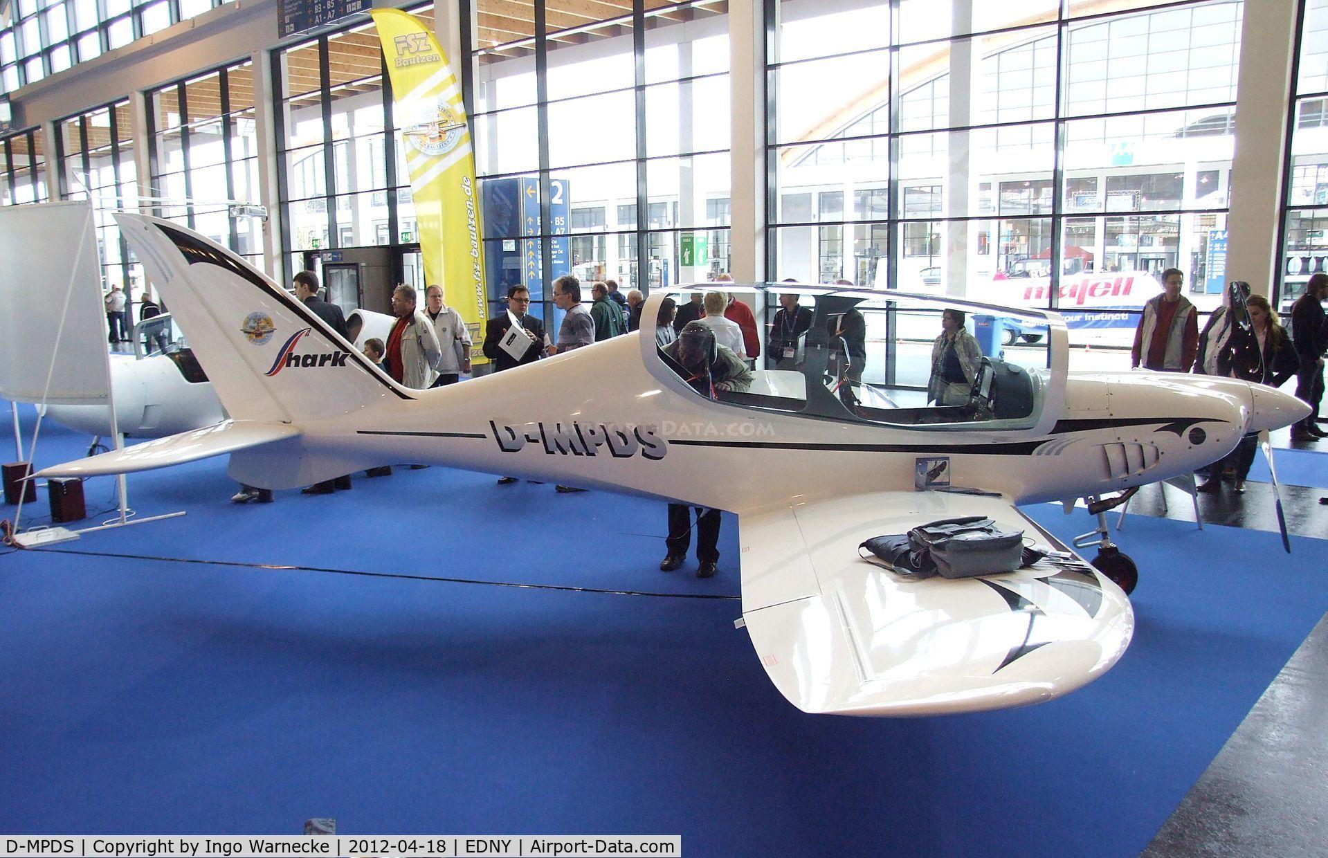 D-MPDS, 2012 Shark Aero Shark Premium C/N 007, Shark Aero Shark Premium at the AERO 2012, Friedrichshafen
