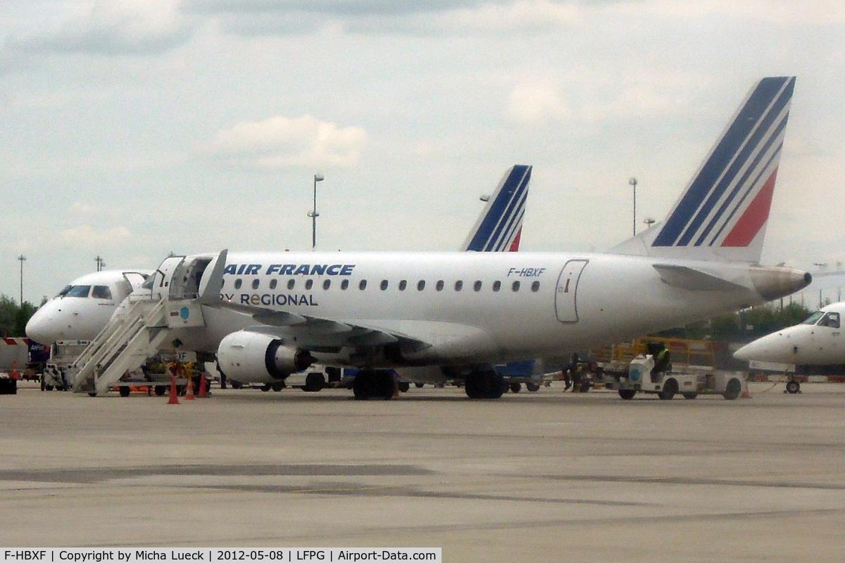 F-HBXF, 2009 Embraer 170ST (ERJ-170-100ST) C/N 17000292, At Charles de Gaulle