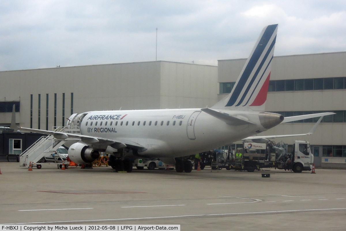 F-HBXJ, 2010 Embraer 170ST (ERJ-170-100ST) C/N 17000312, At Charles de Gaulle