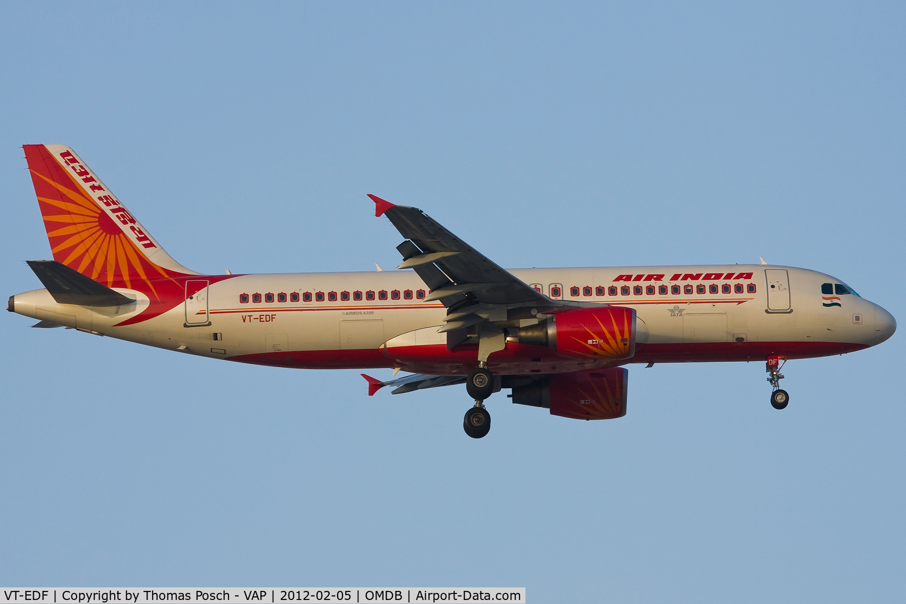 VT-EDF, 2010 Airbus A320-214 C/N 4237, Air India