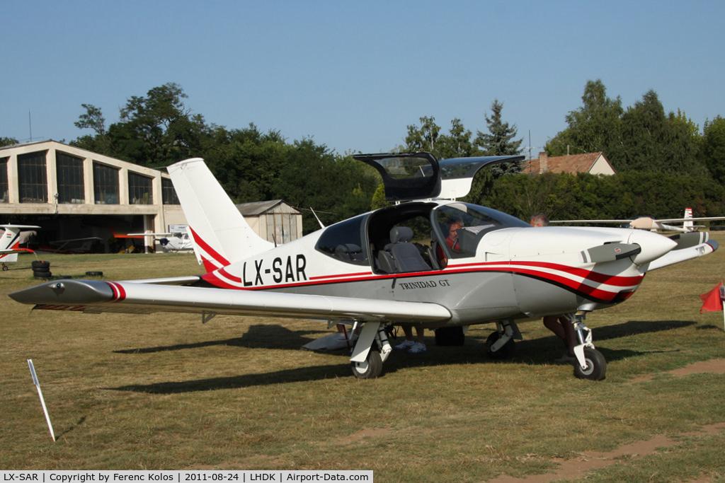 LX-SAR, Socata TB-20 Trinidad GT C/N 2049, Dunakeszi