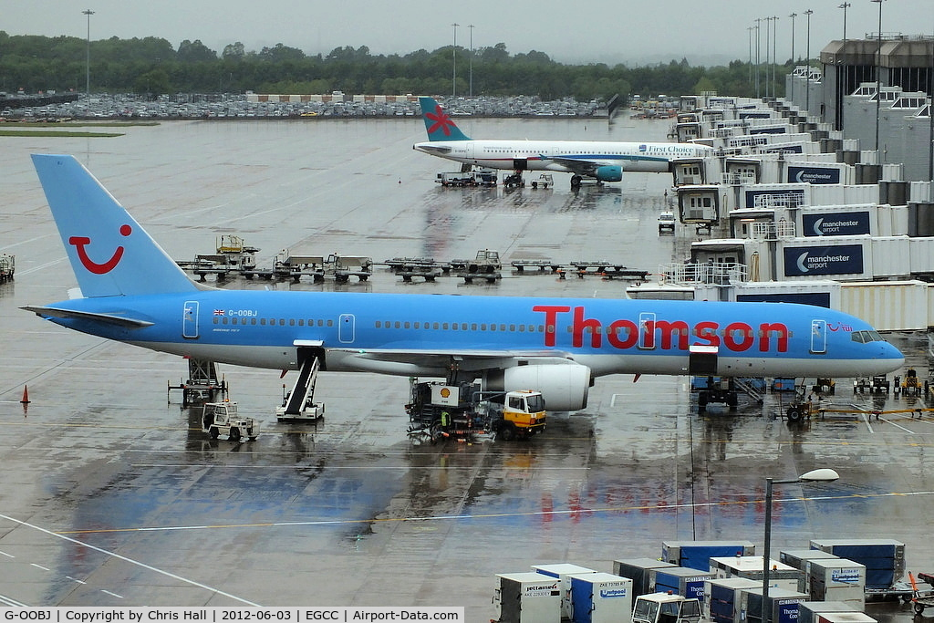 G-OOBJ, 1993 Boeing 757-2B7 C/N 27147, Thomson