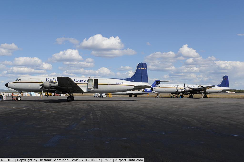 N351CE, 1954 Douglas C-118A Liftmaster (DC-6A) C/N 44599, Everts DC6