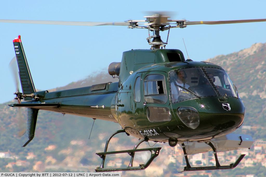 F-GUCA, Eurocopter AS-350B-3 Ecureuil C/N 3558, In flight