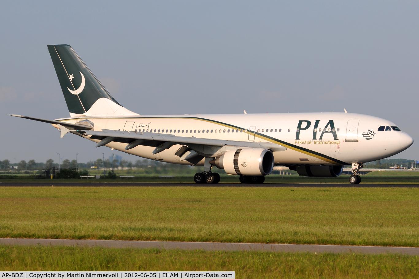 AP-BDZ, 1991 Airbus A310-308 C/N 585, PIA