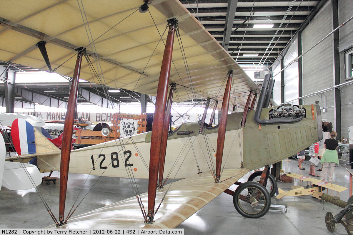 N1282, 1917 Curtiss JN-4D Jenny C/N 1, 1917 Curtiss JN4D  at Western Antique Aeroplane & Automobile Museum at Hood River, Oregon