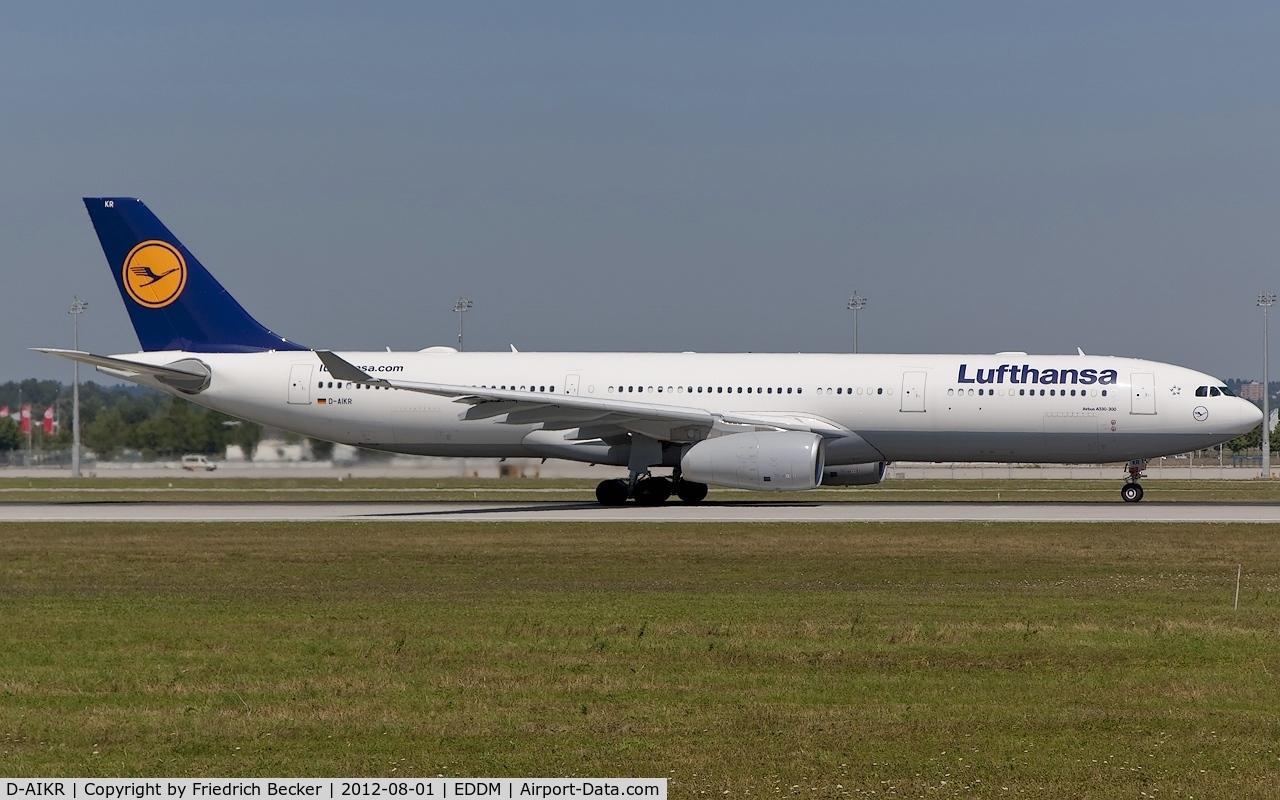 D-AIKR, 2012 Airbus A330-343X C/N 1314, departure from Munich
