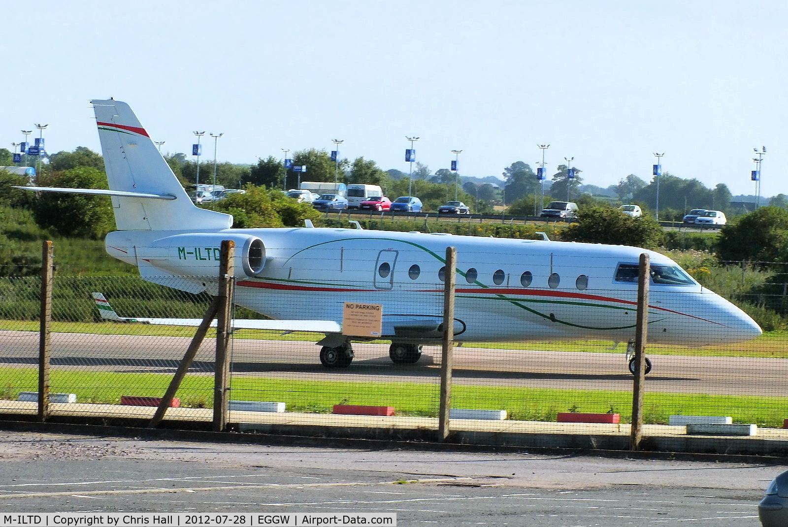 M-ILTD, 2008 Gulfstream Aerospace G200 C/N 207, Flash Sky
