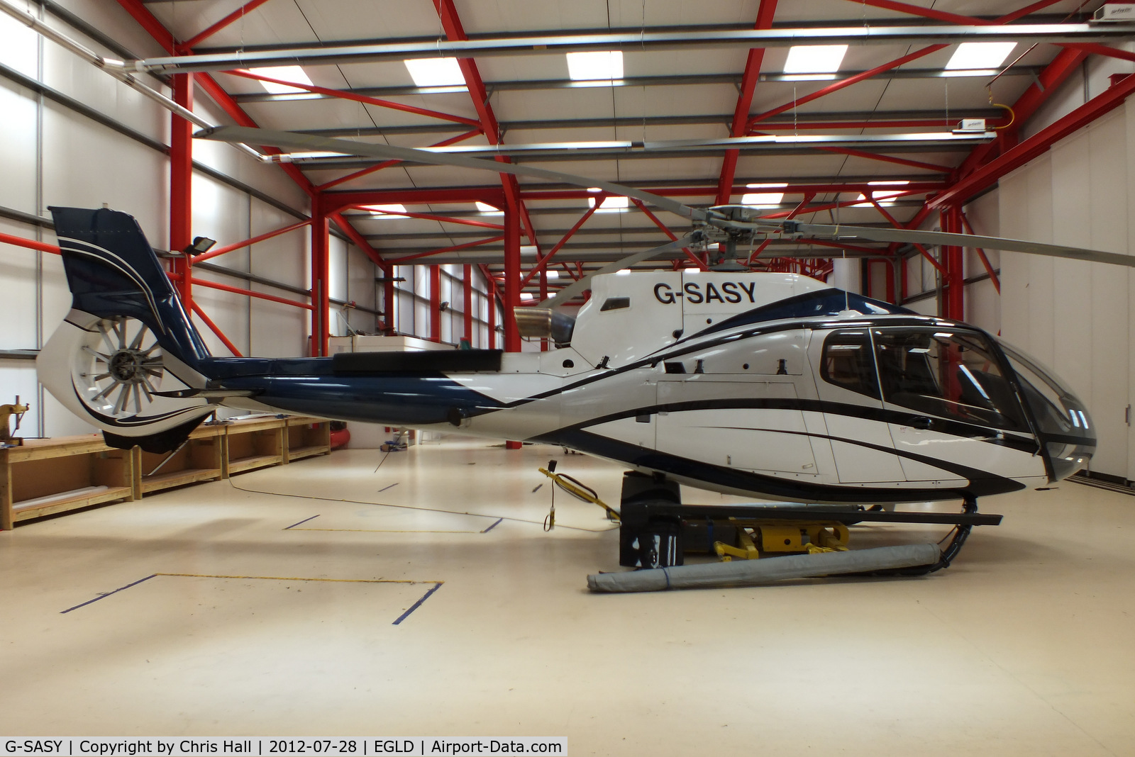 G-SASY, 2009 Eurocopter EC-130B-4 (AS-350B-4) C/N 4760, privately owned
