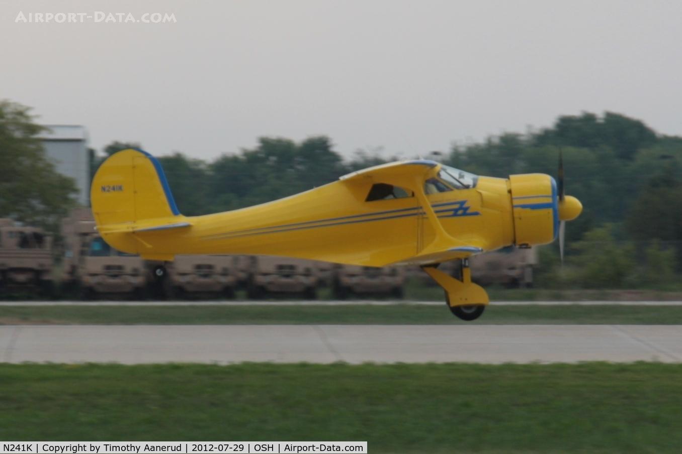 N241K, 1939 Beech D17S Staggerwing C/N 287, 1939 Beech D17S, c/n: 287