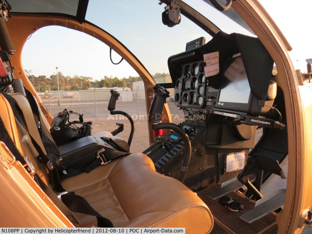 N108PP, 2008 MD Helicopters 369E C/N 0578E, Doors off for cool flying as sunsets