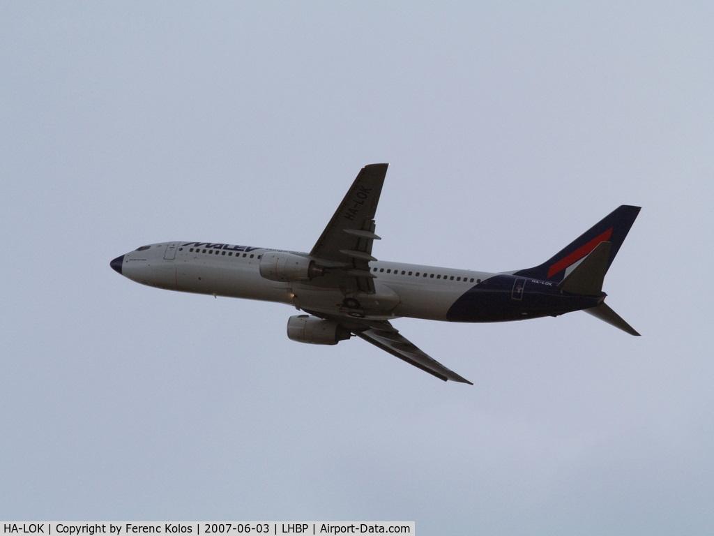 HA-LOK, 2004 Boeing 737-8Q8 C/N 30669, Ferihegy