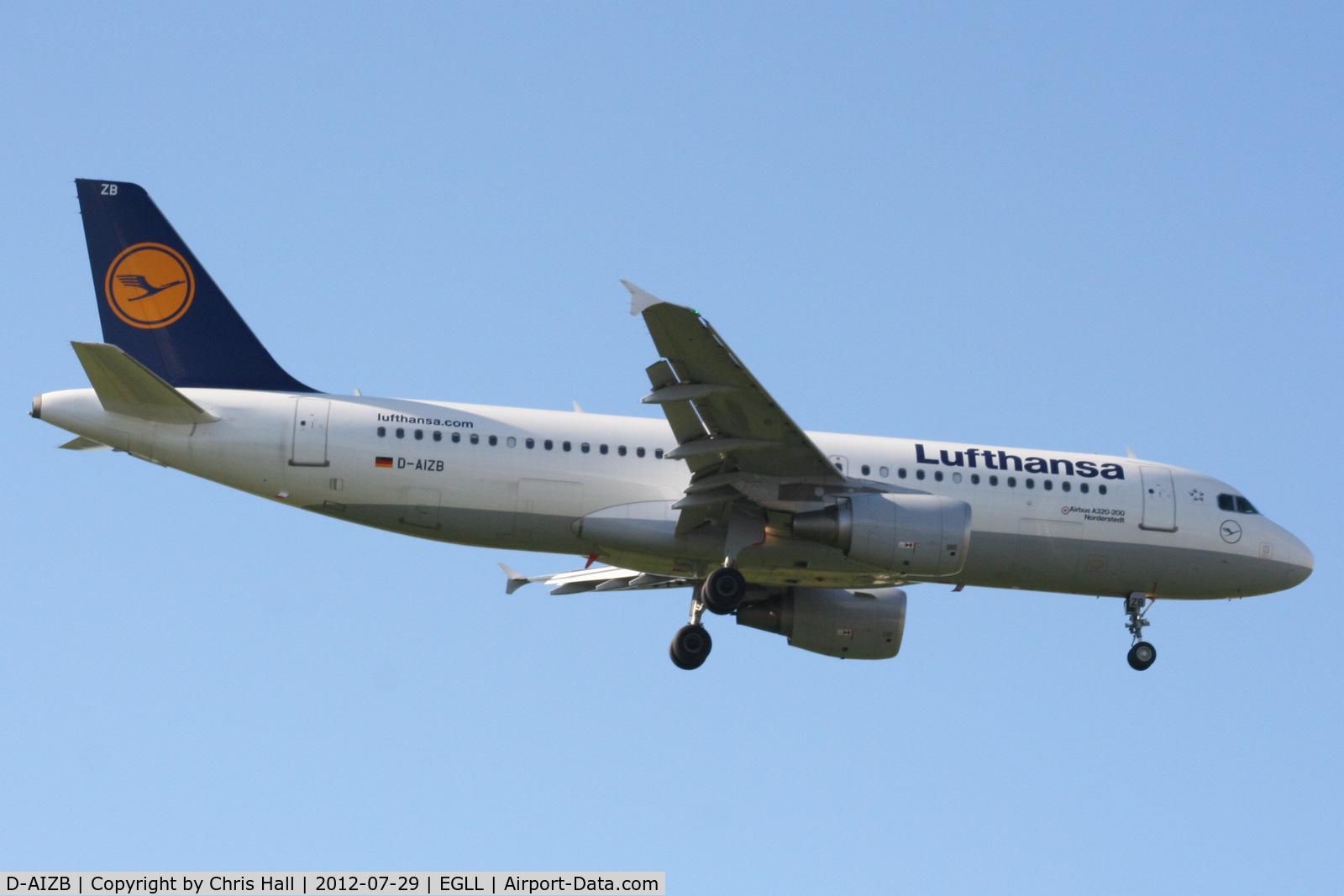 D-AIZB, 2009 Airbus A320-214 C/N 4120, Lufthansa