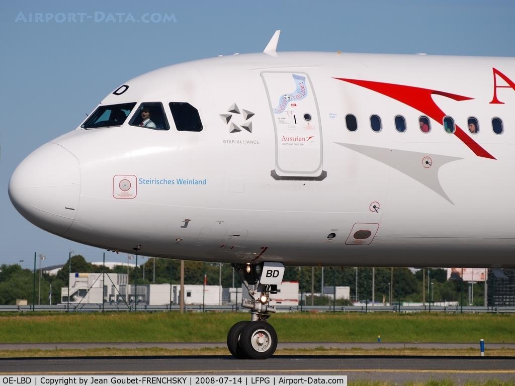 OE-LBD, 1998 Airbus A321-211 C/N 920, AUA [OS] Austrian Airlines