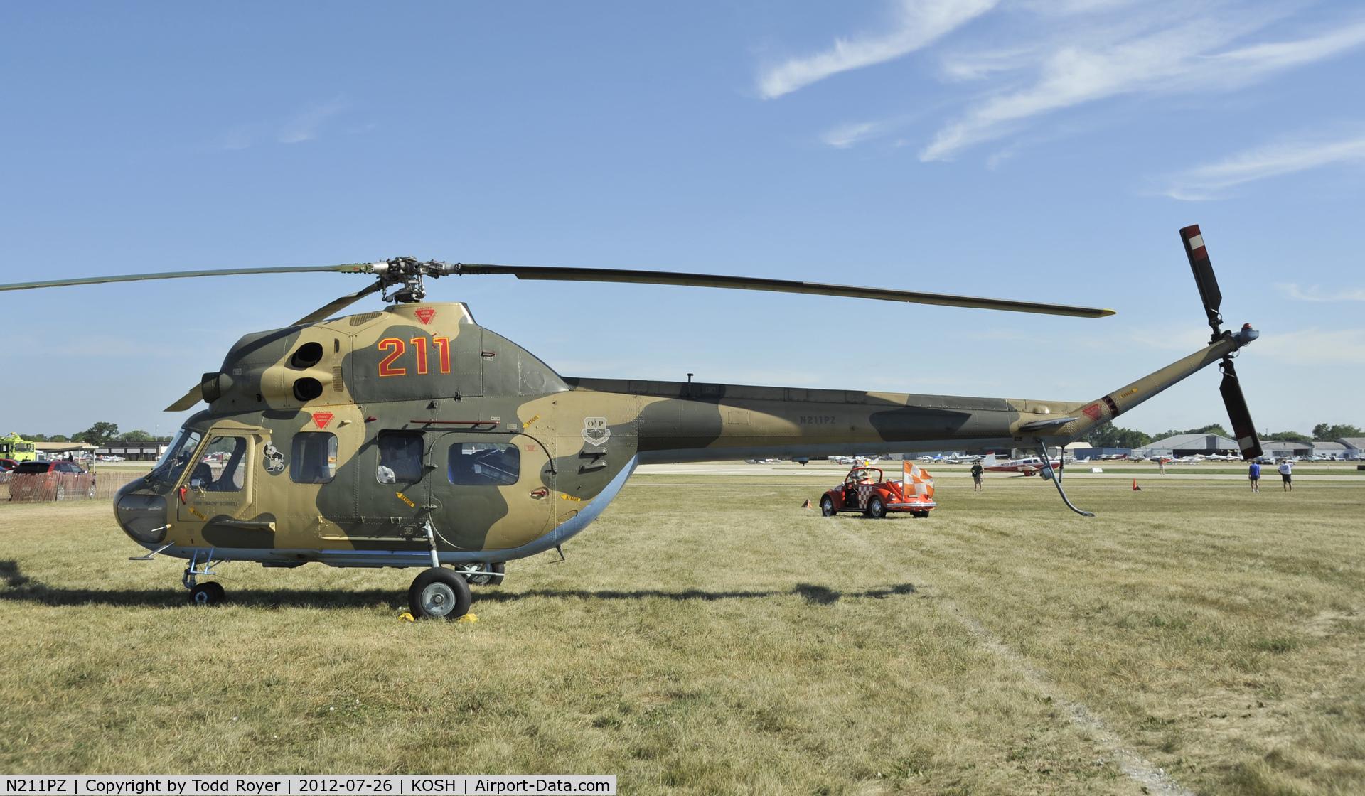 N211PZ, Mil Mi-2 Hoplite C/N 515021126, Airventure 2012