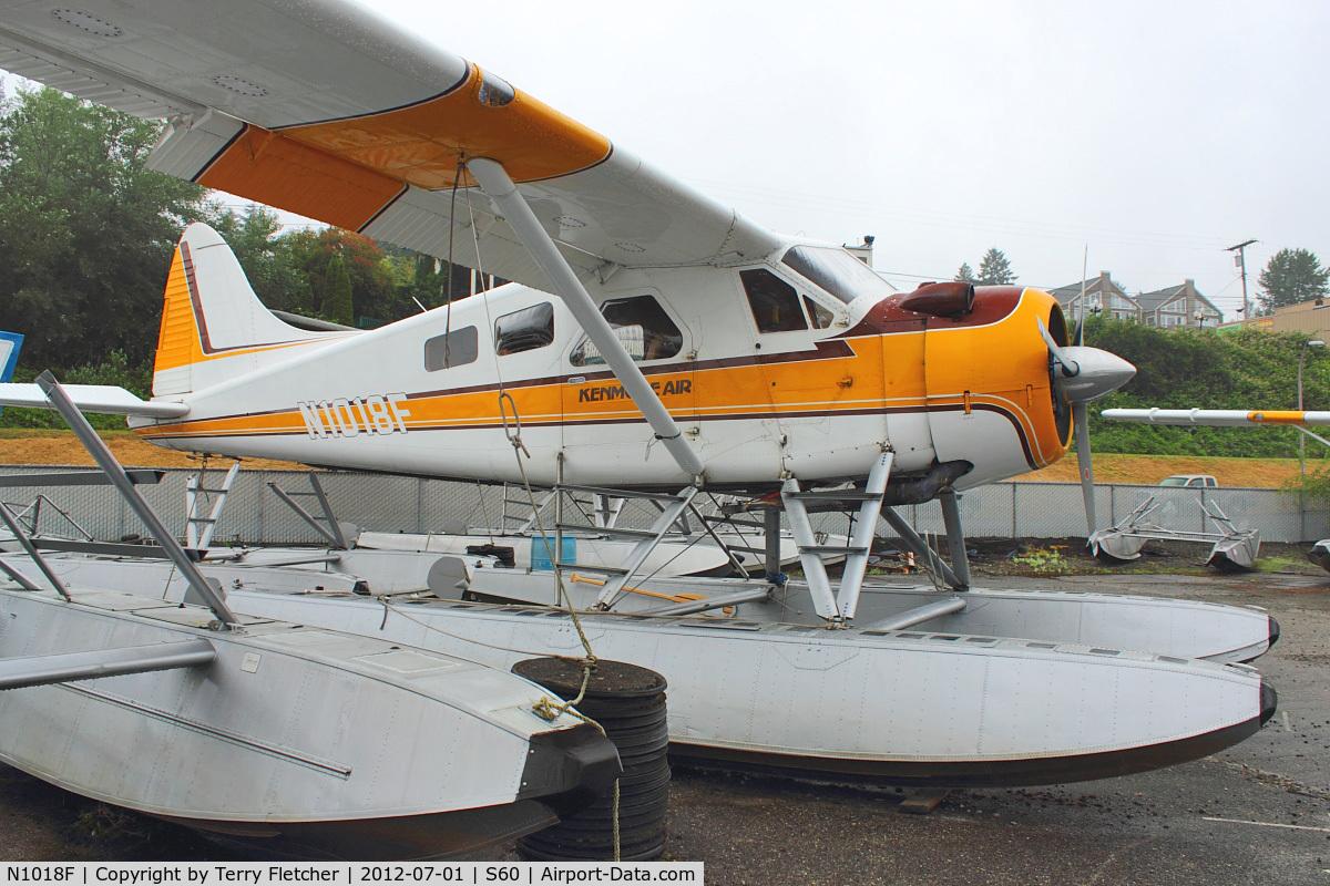 N1018F, 1954 De Havilland Canada U-6A Beaver C/N 710, 1954 Dehavilland BEAVER DHC-2, c/n: 710