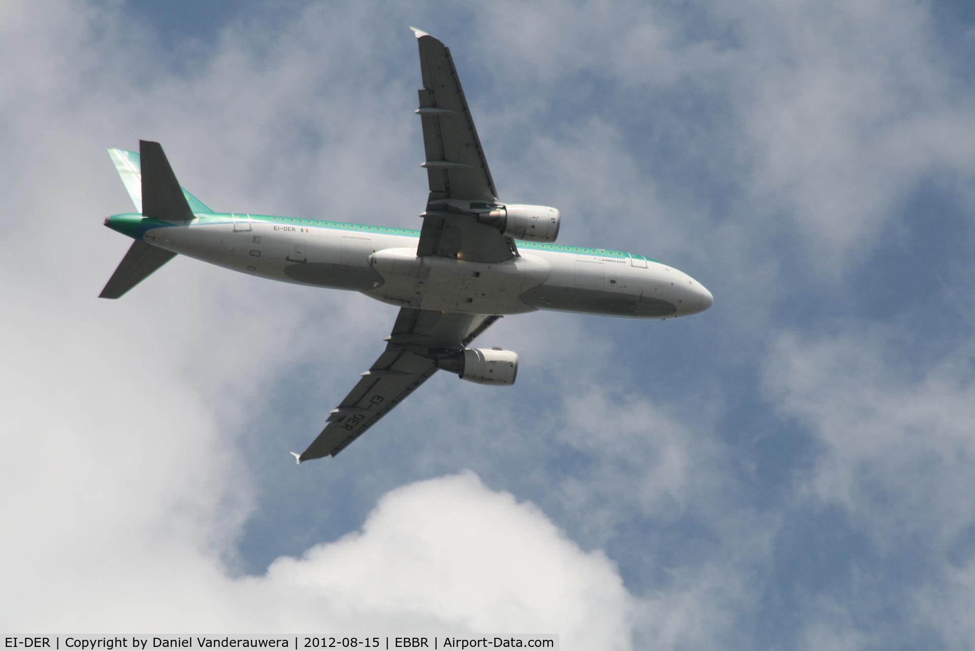 EI-DER, 2005 Airbus A320-214 C/N 2583, Flight EI846 on approach to RWY 07L