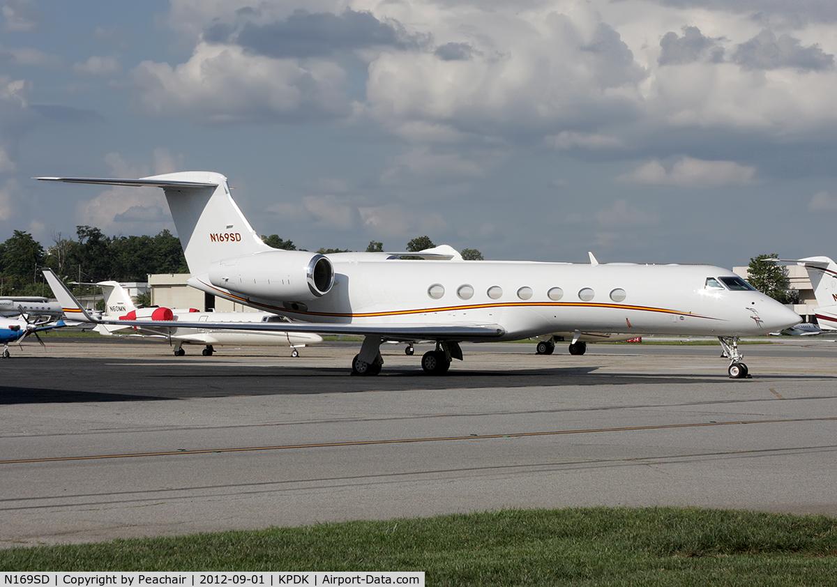 N169SD, 2008 Gulfstream Aerospace GV-SP (G550) C/N 5206, Att Epps Aviation