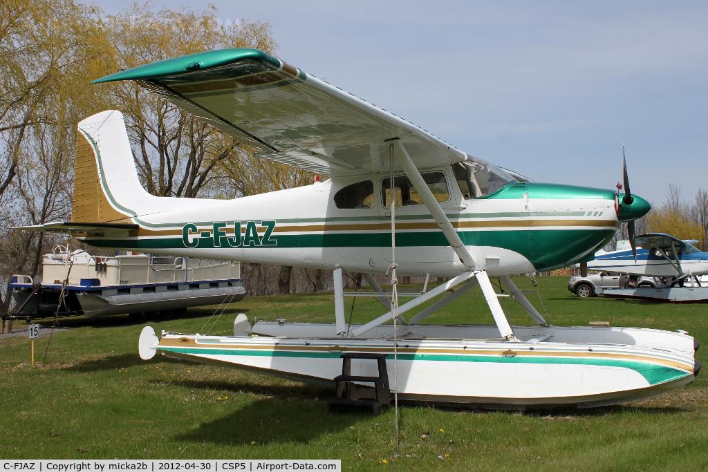 C-FJAZ, 1956 Cessna 180 C/N 32514, Parked