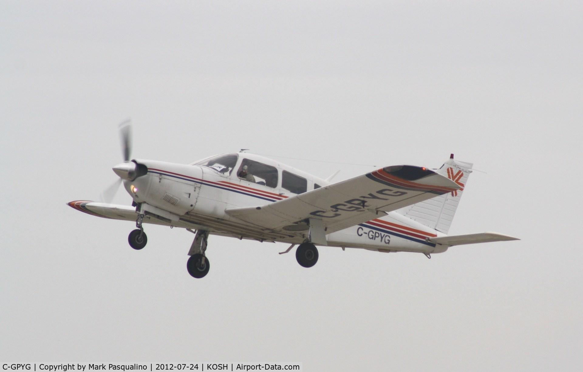 C-GPYG, 1976 Piper PA-28R-200 C/N 28R-7635045, Piper PA-28R-200