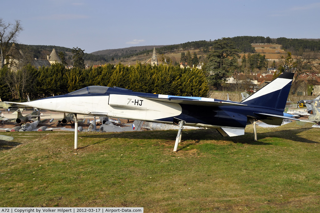 A72, Sepecat Jaguar A C/N A72, at Savigny-les-Beaune