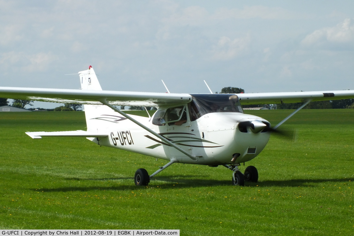 G-UFCI, 2007 Cessna 172S Skyhawk C/N 172S-10508, at the 2012 Sywell Airshow