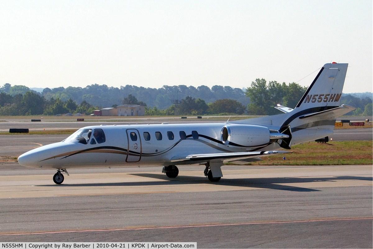 N555HM, 2000 Cessna 550 Citation Bravo C/N 550-0950, Cessna Citation Bravo [550-0950] Atlanta-Dekalb Peachtree~N 21/04/2010