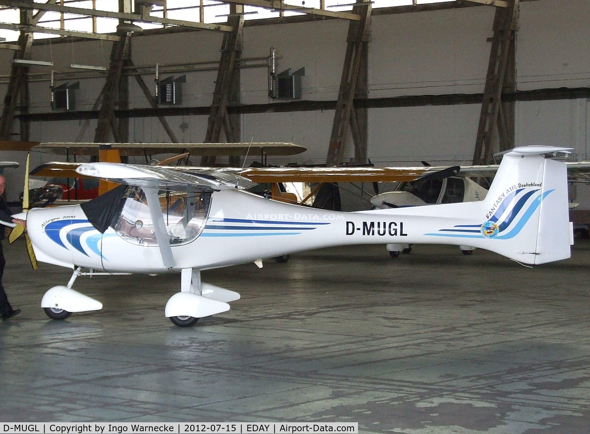 D-MUGL, Fantasy Air Allegro 2000 C/N Not found D-MUGL, Fantasy Air Allegro 2000 at Strausberg airfield