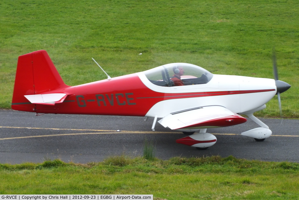 G-RVCE, 2001 Vans RV-6A C/N PFA 181-13372, at Leicester Airport