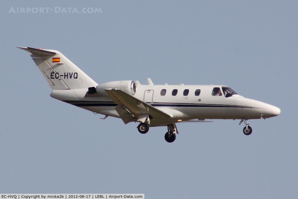EC-HVQ, 2001 Cessna 525 Citation CJ1 C/N 525-0436, Landing