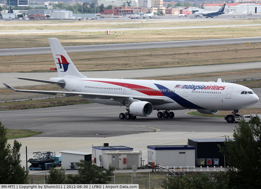 9M-MTI, 2012 Airbus A330-323(X) C/N 1337, Ready for delivery...