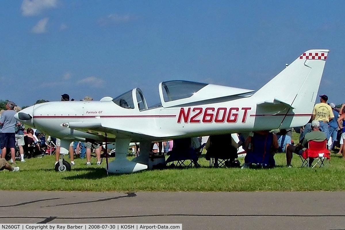 N260GT, 2002 Midwest Aerosport Inc FORMULA GT C/N 104, Midwest Aerosport Formula GT [104] Oshkosh-Wittman Regional Airport~N 30/07/2008