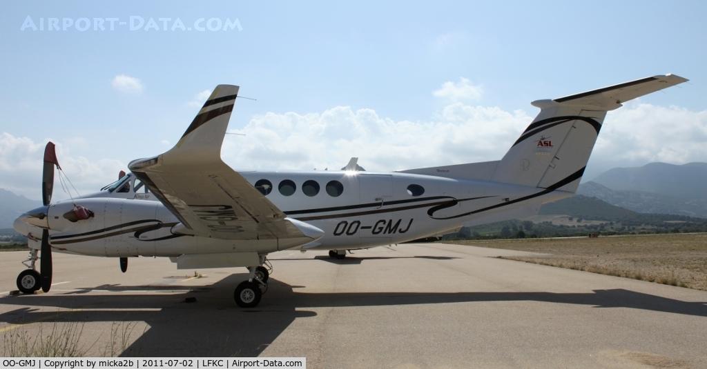 OO-GMJ, 2005 Beechcraft King Air 350B C/N FL-460, Parked